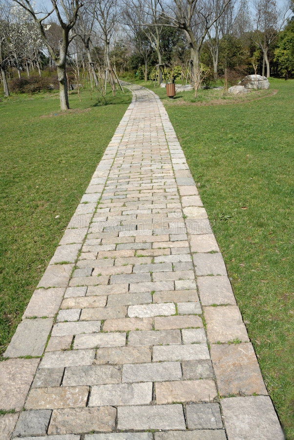 Download Stone garden path stock photo. Image of farmland, brick - 8568690