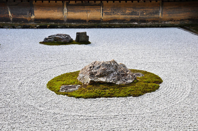 Stone garden at ryoanji temple in kyoto japan stock photo image of download stone garden at ryoanji temple in kyoto japan stock photo image of oriental workwithnaturefo