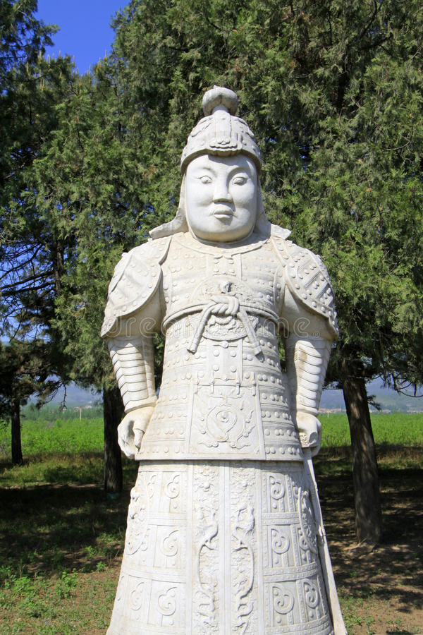 Download Stone General Statue In The Eastern Royal Tombs Of The Qing Dyna Stock Image - Image: 32740435