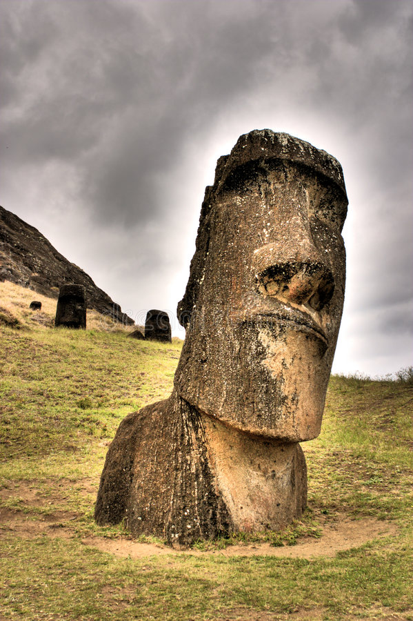 Download Stone Giant Idol stock image. Image of face, monolith - 2774067