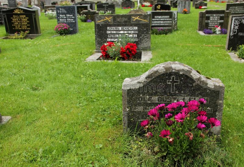 stone grób fotografia royalty free