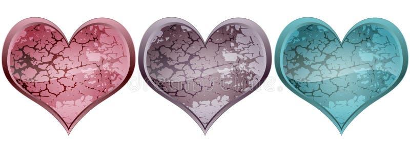 Download Stone heart stock vector. Image of shine, icon, blackjack - 19662501