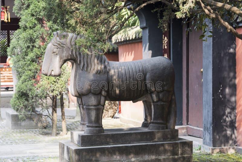 Stone horse stock photos