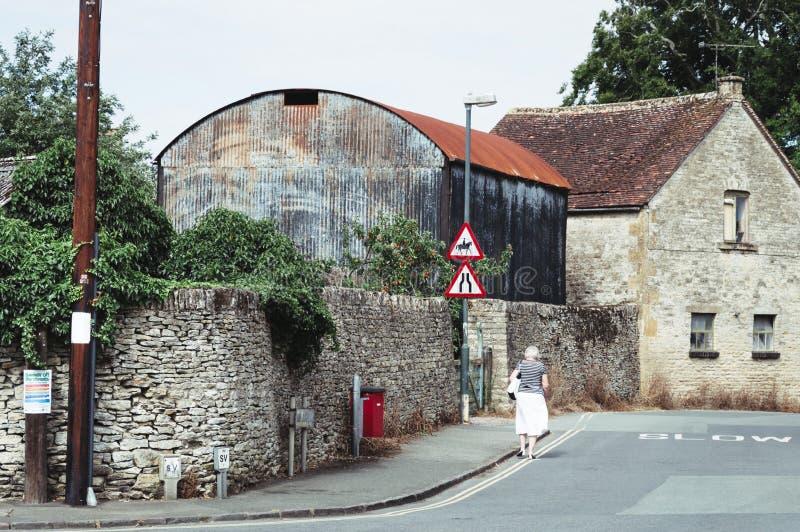 Natural Stone English Village House Stock Image Image Of