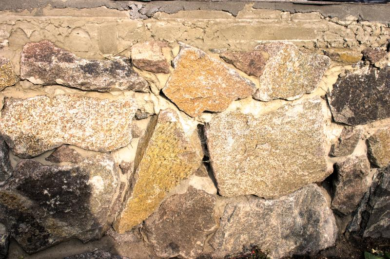 Stone in house royalty free stock image