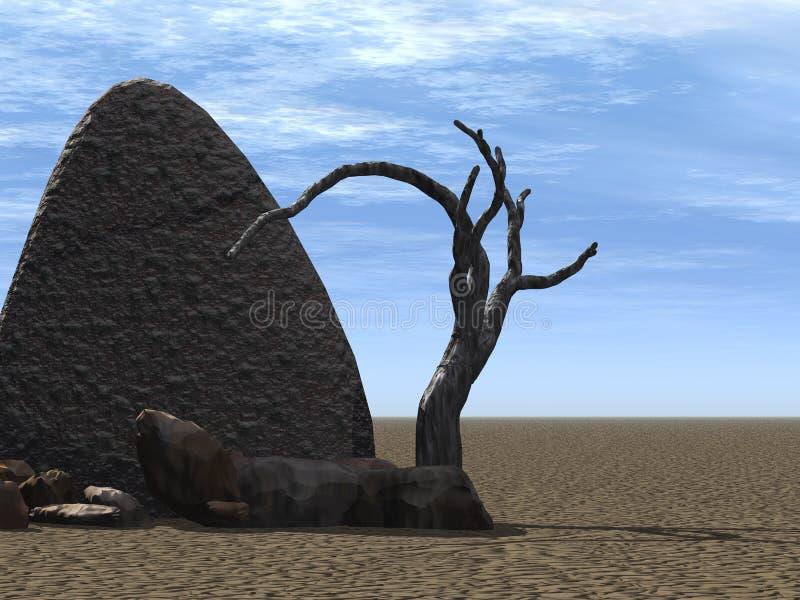 stone kierunkowskazu ilustracji