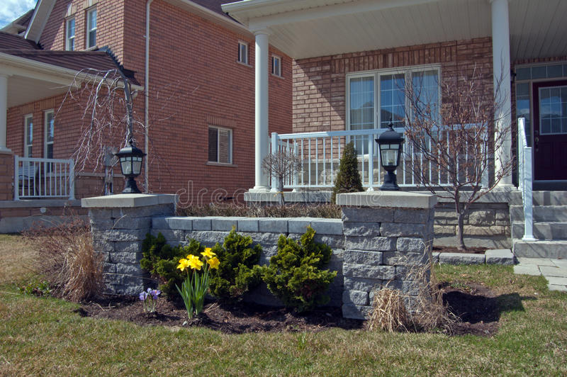 Download Stone landscaping stock photo. Image of plant, cozy, estate - 24110584