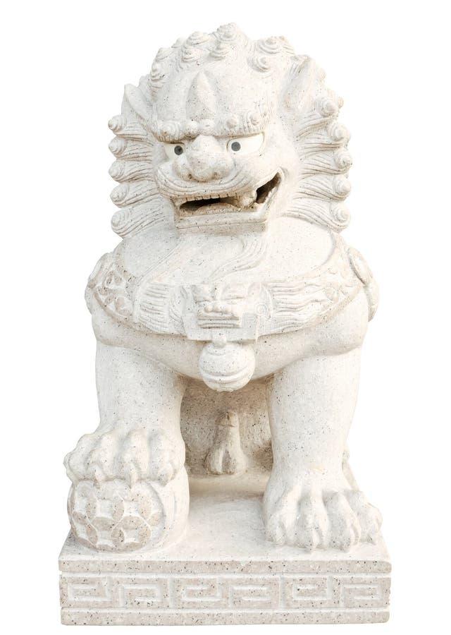 Download Stone lion statue stock image. Image of guard, decorative - 21190573