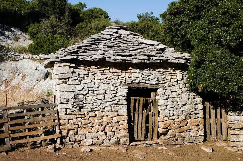 Stone Lodge Stock Images
