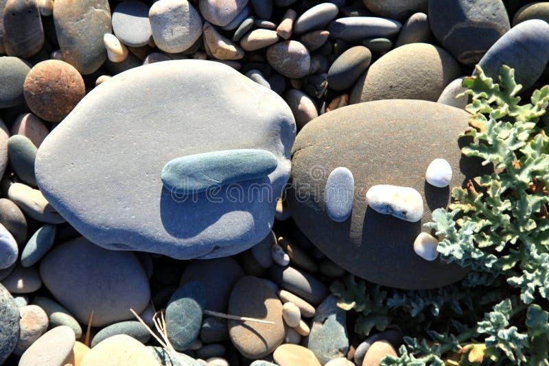Stone man. royalty free stock photography