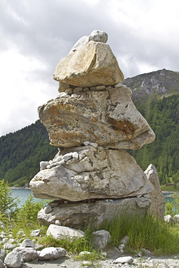 Download Stone man stock photo. Image of inspiring, marking, italy - 21673954