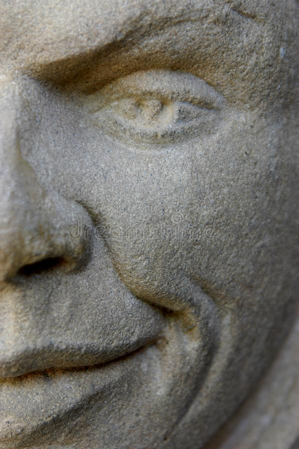 Stone Man Stock Images