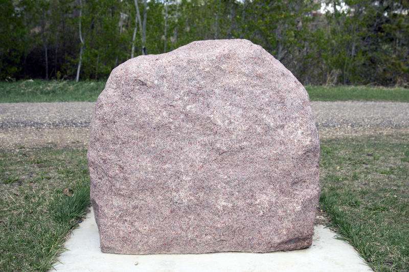 Download Stone Marker stock photo. Image of creek, valley, center - 51013570