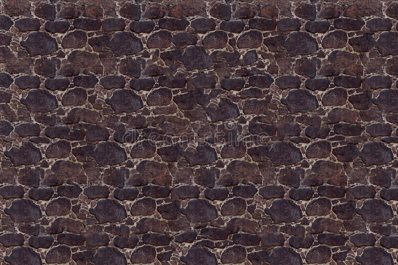Stone masonry dark uneven stone pavement natural texture base stock image