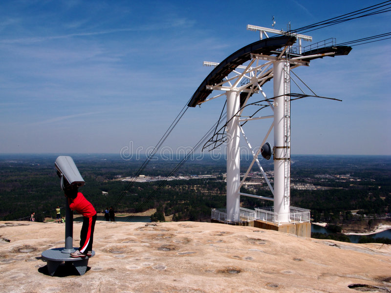 Stone Mountain royalty free stock images