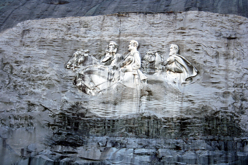 Download Stone Mountain Monument stock image. Image of stone, monument - 1711503