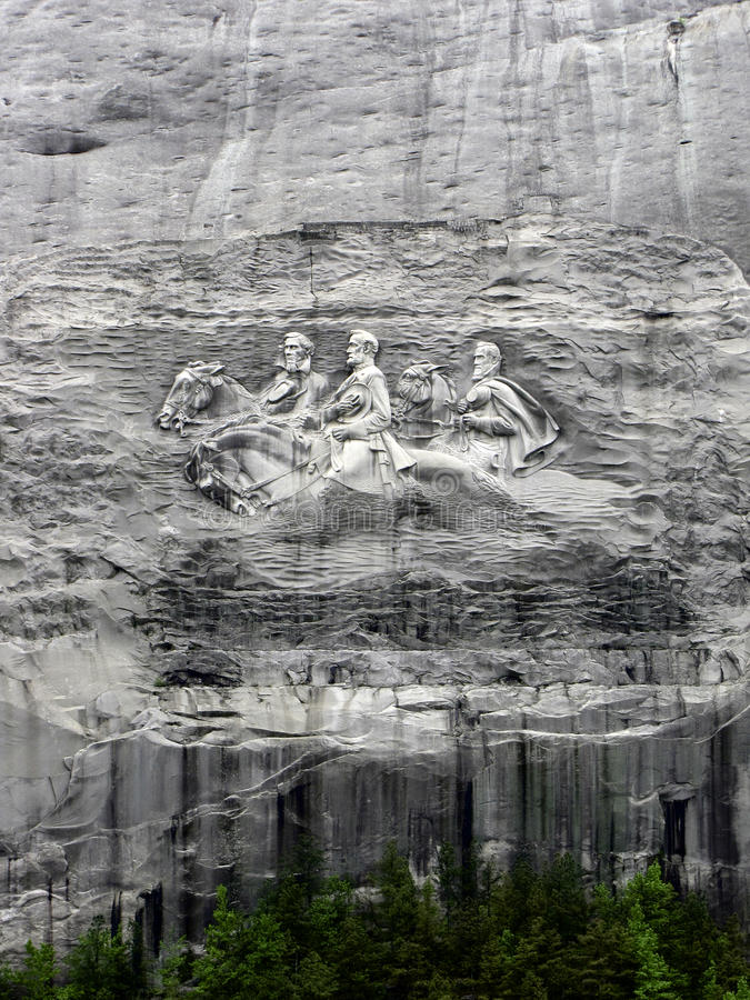 Stone Mountain Monument royalty free stock photography