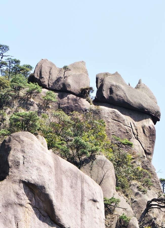 Download Stone mountain peak stock image. Image of efflorescent - 26007529