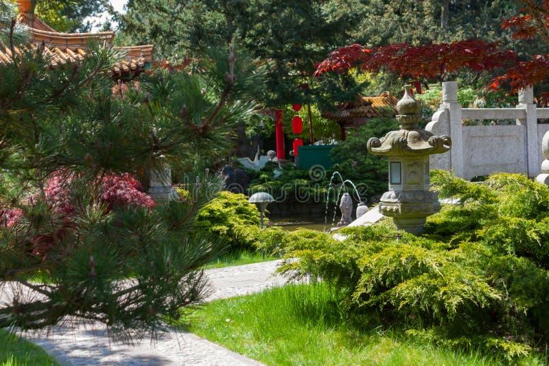 Stone Pagoda Lantern Royalty Free Stock Image