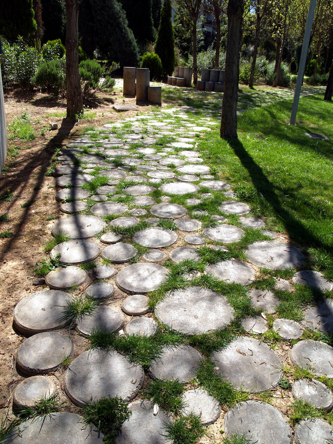 Download Stone path stock photo. Image of concept, vegetation, direction - 628632