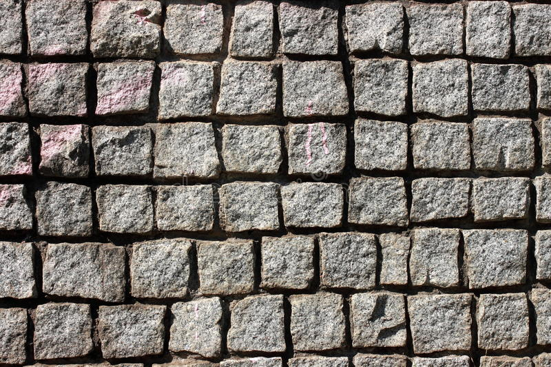 Stone pattern. Stone wall pattern in thailand royalty free stock image