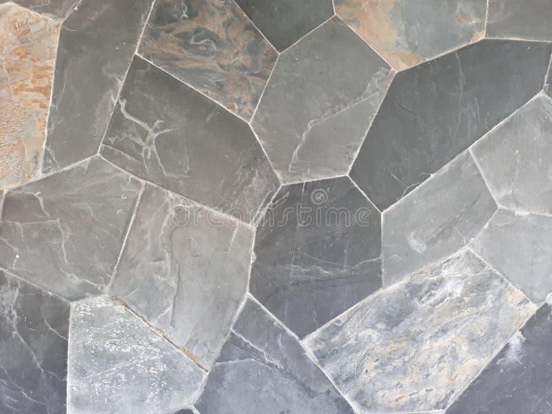 Stone pattern. Stonwall pattern Flat royalty free stock photo