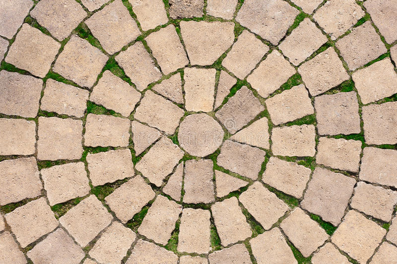 Stone paving texture. Abstract pavement background. stock images