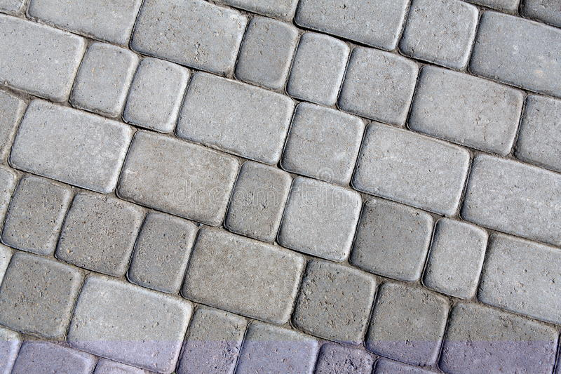 Stone paving texture. Abstract pavement background. stock photo