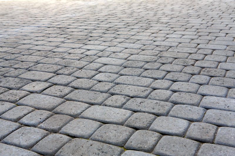 Stone paving texture. Abstract pavement background. royalty free stock photo