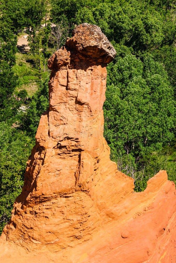 Stone peak royalty free stock images