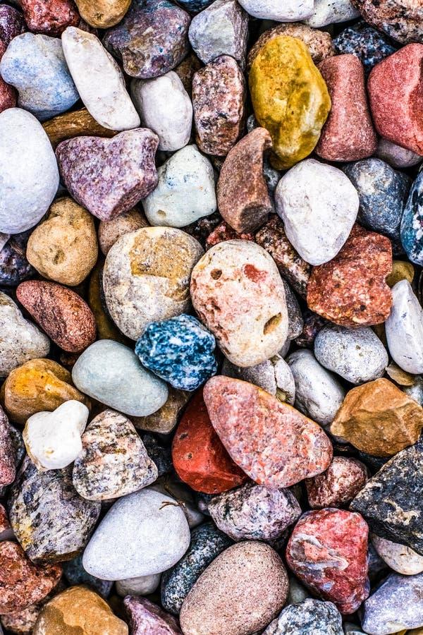 Stone pebbles background texture, landscape architecture. Landscape architecture, interior design and nature elements concept - Stone pebbles background texture royalty free stock photo