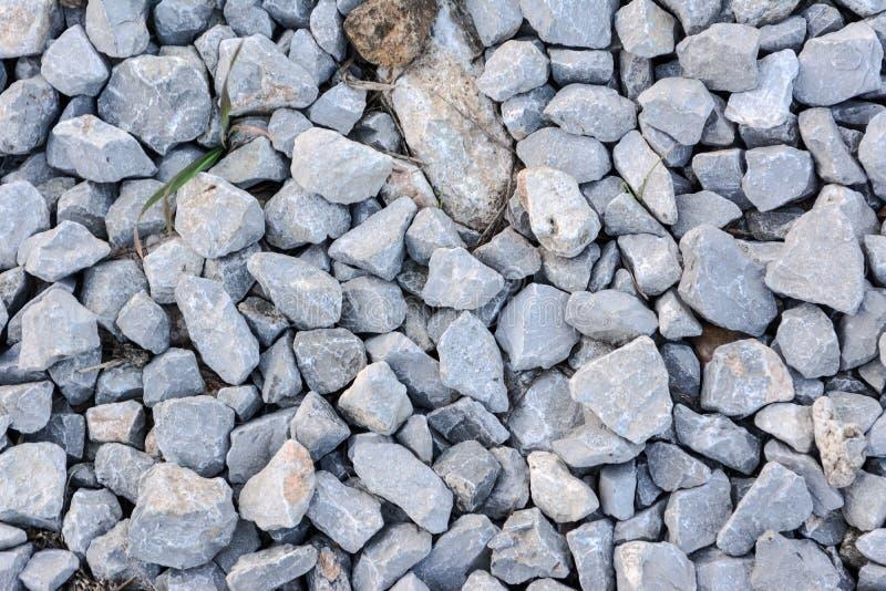 Stone pieces stock photos