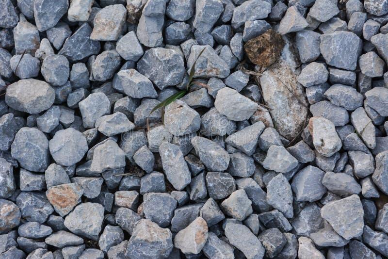 Stone pieces stock photo