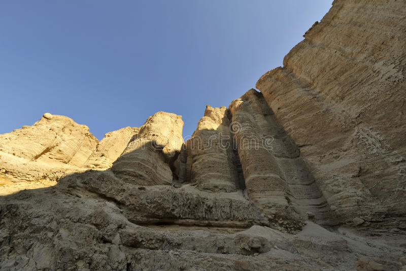 Desert Rock Pillars : Stone pillars in judea desert stock photo image of