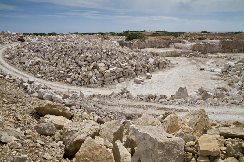 Stone Quarry stock images