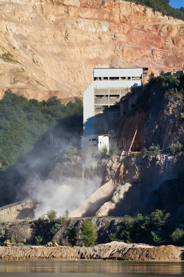 Download Stone Quarry Royalty Free Stock Photography - Image: 22624937