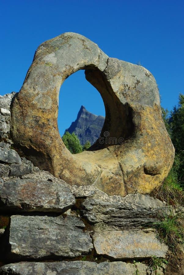 Download Stone Ring On The Old Bridge, Hornindal, Norway Stock Photo - Image: 15556390