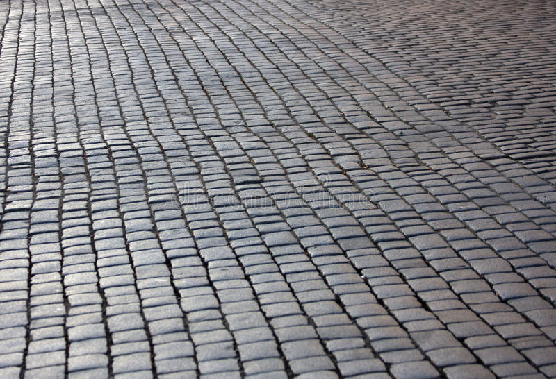 Stone road royalty free stock image