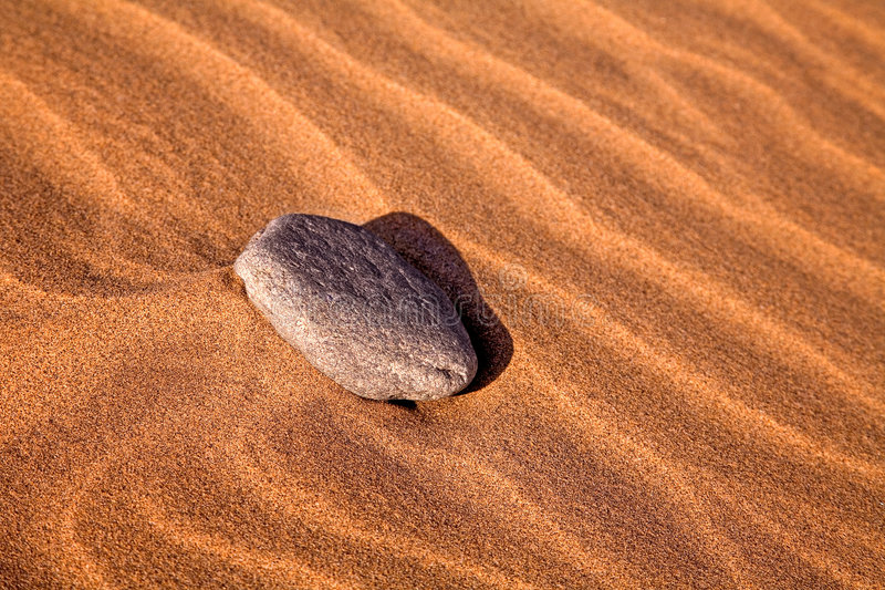 Download Stone on the sand stock image. Image of holiday, textured - 1882443