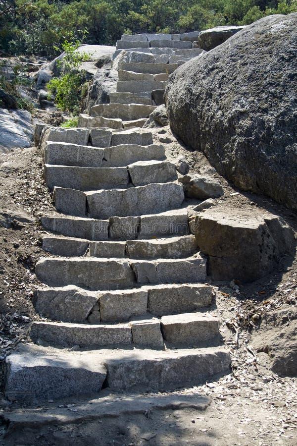stone schodka obraz stock