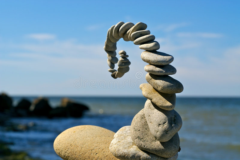 Stone sculpture royalty free stock images