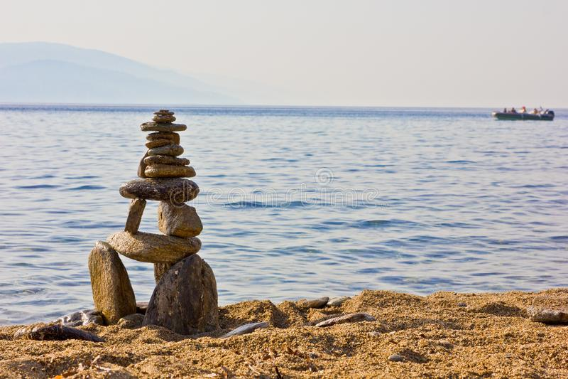 Stone sculture stock photos
