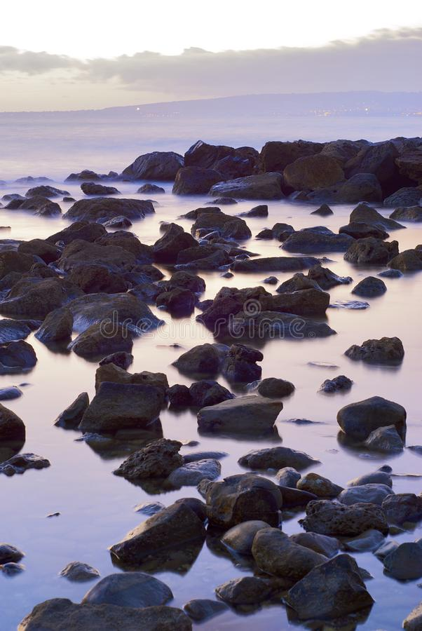 Download The Stone In The Sea Landscape Stock Image - Image: 6784551