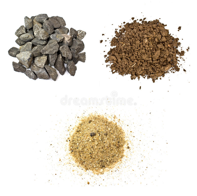 Stone, soil, sand royalty free stock images