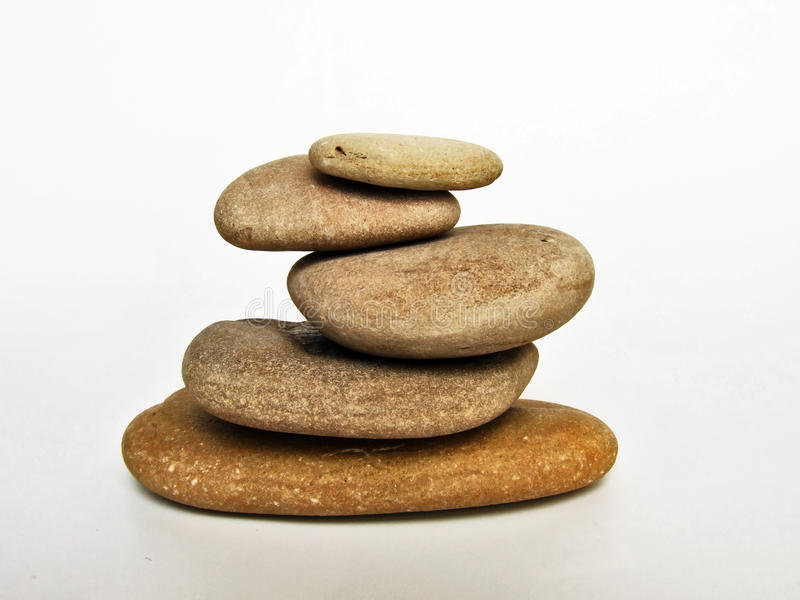 Stone spa χαλαρώστε στοκ εικόνες