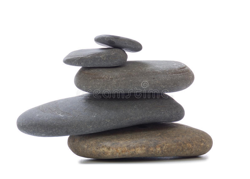 Stone for spa stock photography