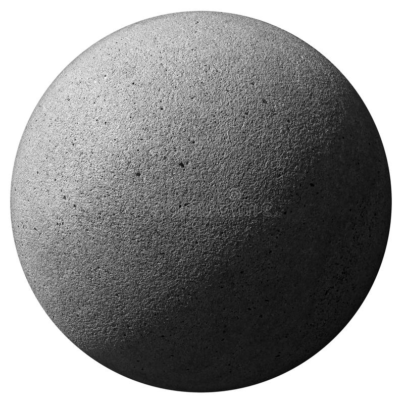 Stone sphere royalty free stock image