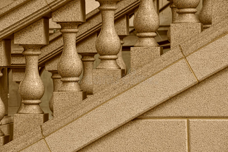 Download Stone staircase design stock photo. Image of sepia, staircase - 19027044