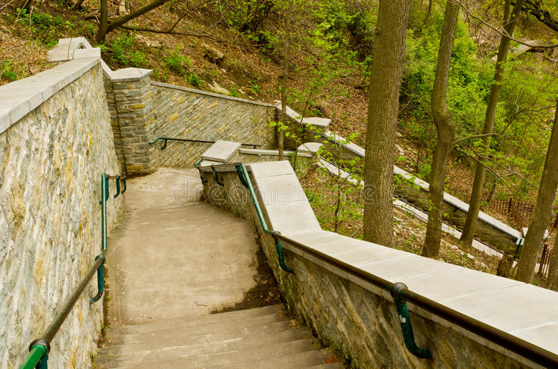Stone Stairs Royalty Free Stock Photo
