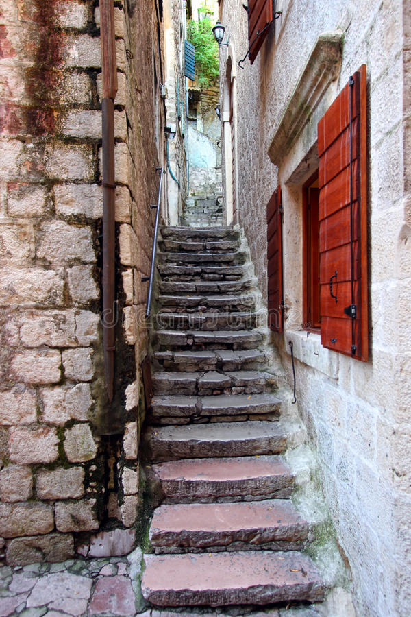 Download Stone stairs stock photo. Image of building, wall, town - 26300968